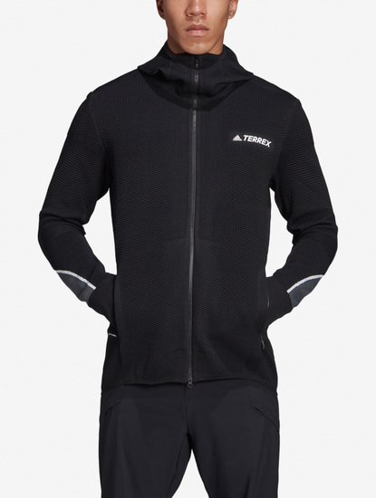 Mikina adidas Performance Pknit Midlayer
