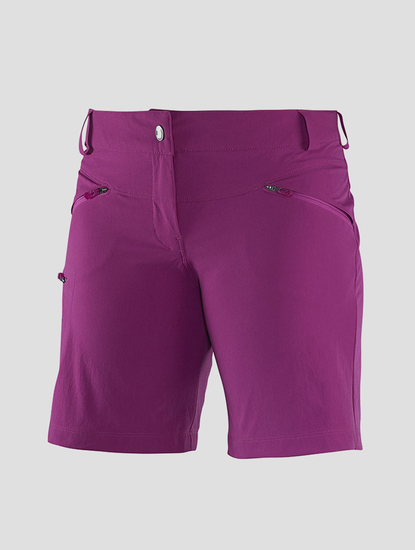 Kraťasy Salomon WAYFARER SHORT W ASTER PURPLE