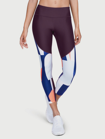 Kompresné legíny Under Armour Balance Printed Crop