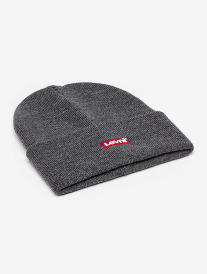 Čapica LEVI'S Red Batwing Embroidered Slouchy Beanie