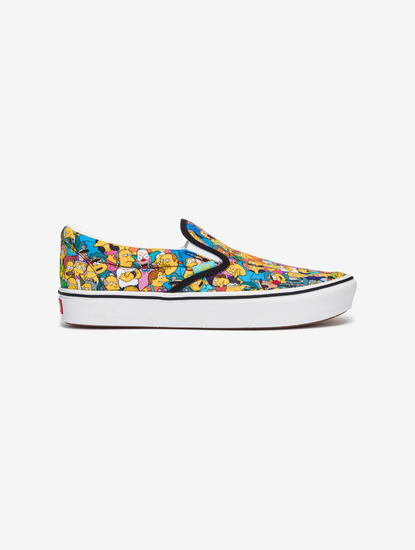 The Simpsons Comfycush Springfield Slip On Vans