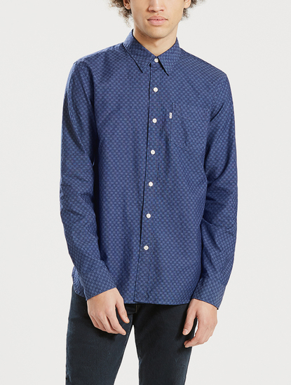 Košeľa Levi's® Sunset 1 Pocket Shirt Caspia Dark Indig