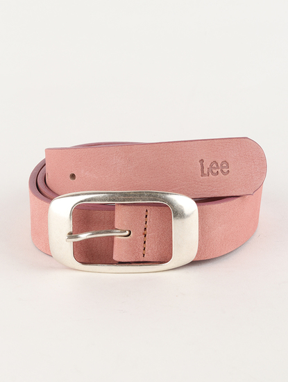 Opasok Lee Colourful Nubuck Bel Faded Pink
