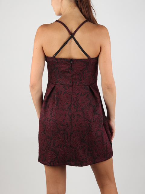 Šaty Superdry ALEXANDRA VEE SKATER DRESS