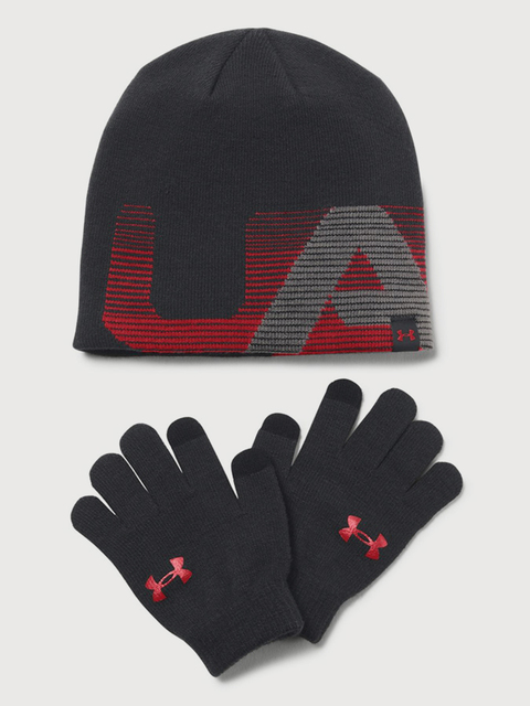 Čapica a rukavice Under Armour Boy's Beanie/Glove Combo