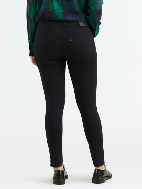 Džíny LEVI'S 711 Skinny Black Sheep