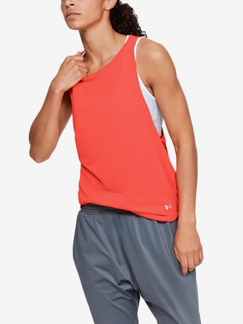 Tričko Under Armour Whisperlight Mesh Tank-Org