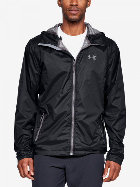 Bunda Under Armour Forefront Rain Jacket-Blk