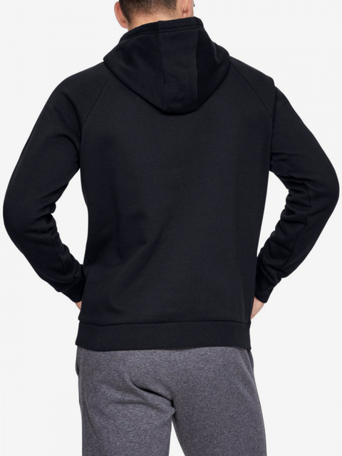 Mikina Under Armour Rival Fleece Box Logo Hoodie-Blk