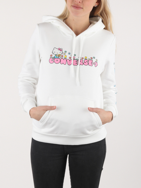 Mikina Converse Hello Kitty  Flower Po Hoodie