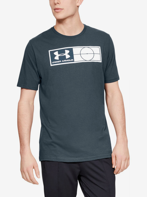 Tričko Under Armour Global Football Tag Tee-Gry