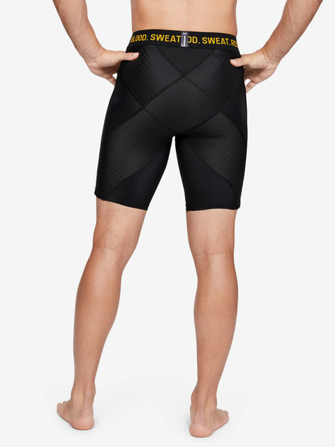 Kompresné šortky Under Armour Project Rock Comp Short-Blk