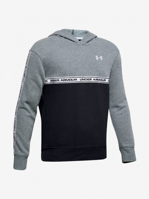 Mikina Under Armour Sportstyle Fleece Hoodie-Gry