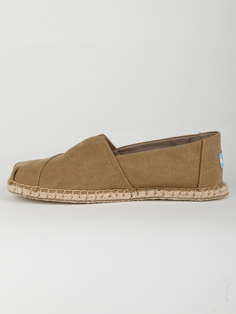 Topánky Toms TOFFEE WASH CANV/BLANKET MN ALPR ESP