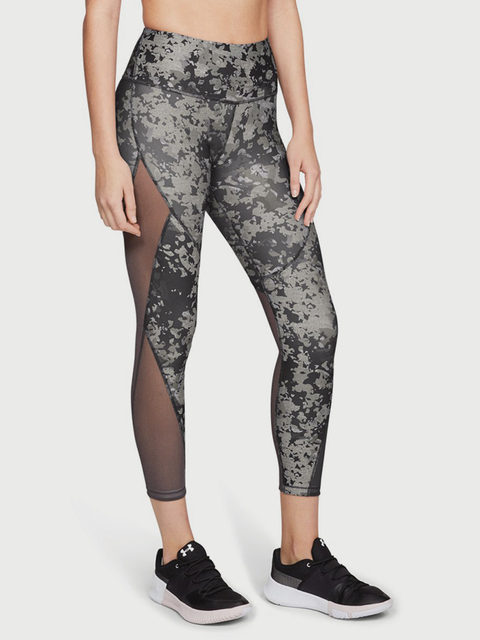 Kompresné legíny Under Armour HG Ankle Crop Dbl Nov Pnt