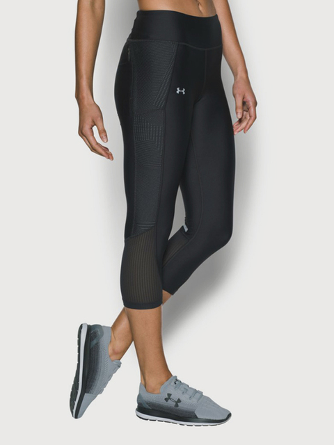 Kompresné legíny Under Armour Fly By Printed Capri