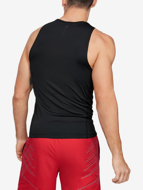 Kompresné tričko Under Armour Select Rush Tank-Blk