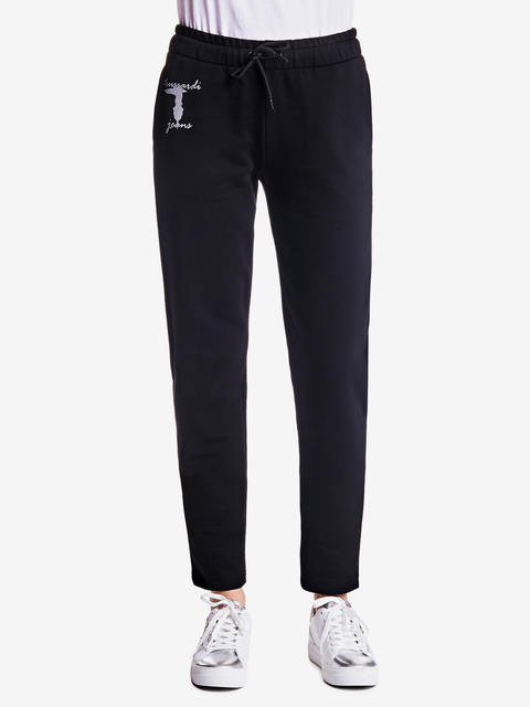 Tepláky Trussardi Fleece Pants Cotton Fleece Regular Fit