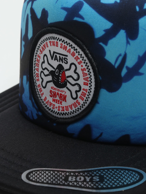 Šiltovka Vans By X Shark Week Black