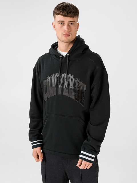 Mikina Converse Twisted Varsity Po Hoodie