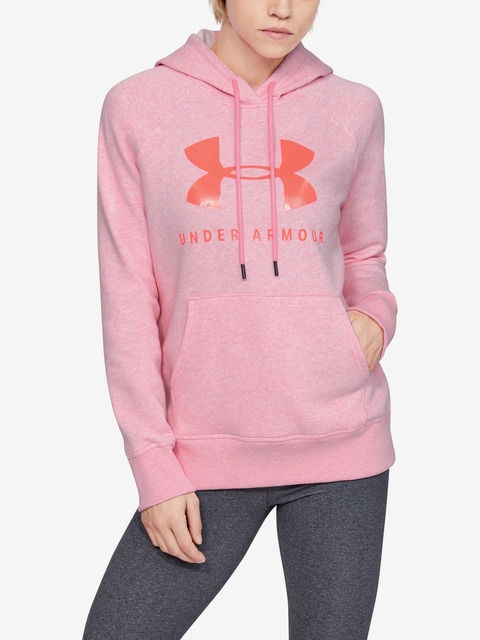 Mikina Under Armour Rival Fleece Sportstyle Graphic Hoodie