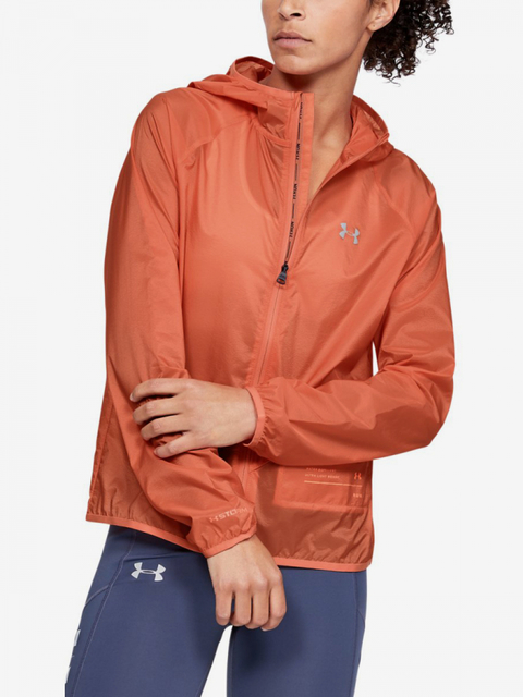 Bunda Under Armour Qualifier Storm Packable Jacket-Red
