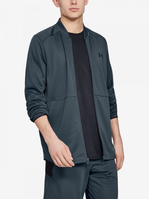 Mikina Under Armour Mk1 Warmup Bomber-Gry