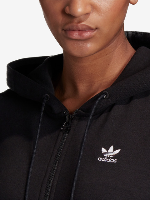 Trefoil Essentials Zip Mikina adidas Originals