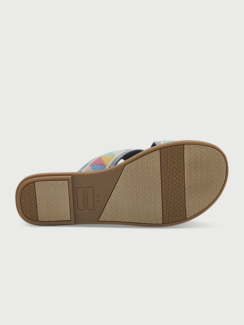 Žabky Toms Multi Tribal Wm Viv Sand