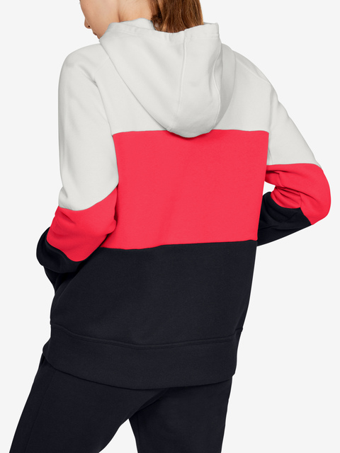 Mikina Under Armour Rival Fleece Color Block Hoodie