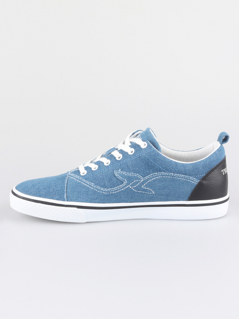 Topánky Trussardi Sneakers Denim/Synthetic Leather Stitching Logo