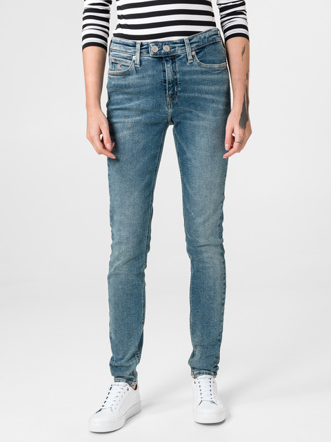 011 Mid Rise Skinny Jeans Calvin Klein