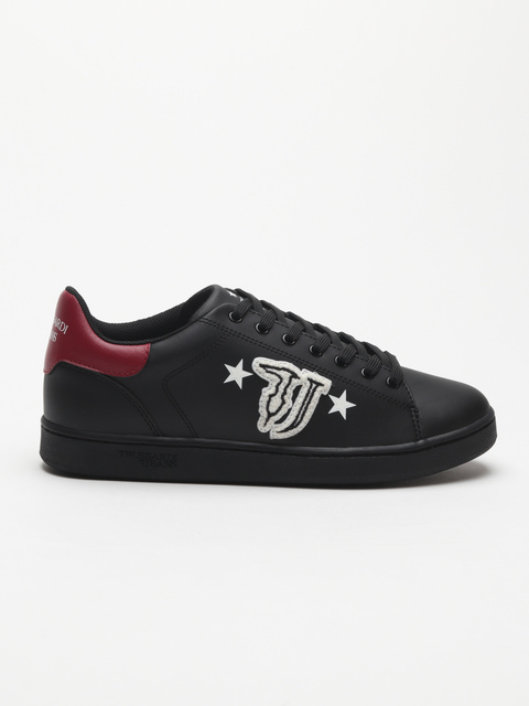 Topánky Trussardi Sneaker Synthetic Patch Logo With Stars