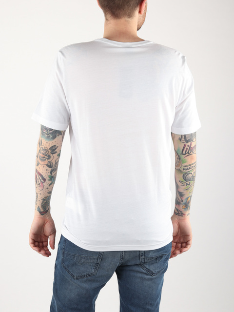 Tričko Oakley Allover Logo Tee White