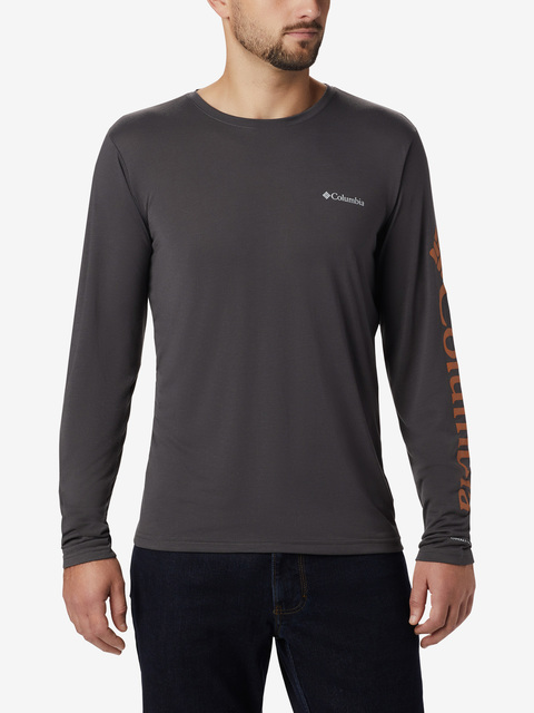 Tričko Columbia Miller Valley Long Sleeve Graphic Tee