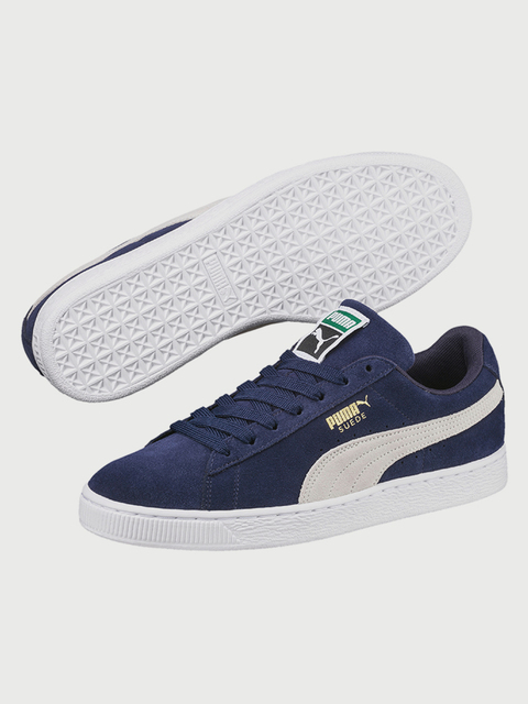 Topánky Puma Suede Classic + peacoat-white