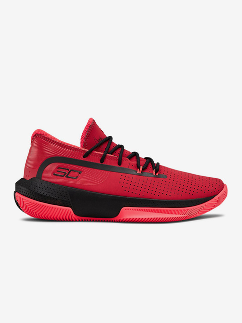 Topánky Under Armour Gs Sc 3Zer0 Iii-Red