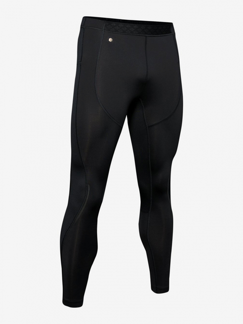 Kompresné legíny Under Armour Rush Run Coldgear Tight-Blk