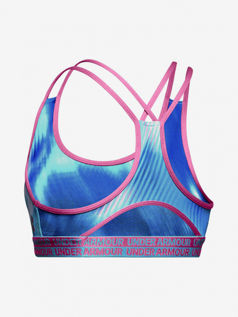 Podprsenka Under Armour Heatgear Novelty Bra-Blu
