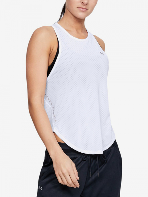 Tielko Under Armour Sport Graphic Tank-Wht