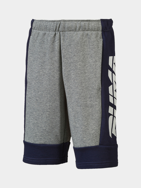 Kraťasy Puma Alpha Bermudas B Medium Gray Heather