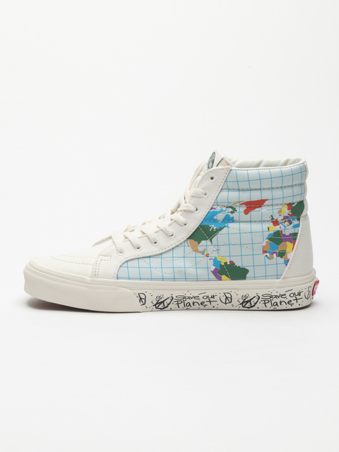 Topánky Vans Ua Sk8-Hi Reissue (Save Our Planet)