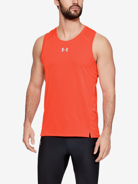 Tielko Under Armour Qualifier Singlet-Red