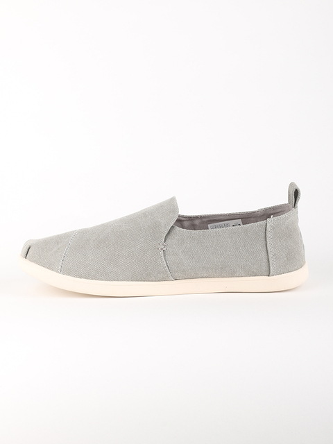 Topánky Toms DR GREY WASHED CANVAS MN DECNALP ESP