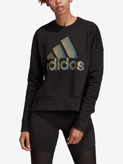 Mikina adidas Performance W Id Glam Sweat