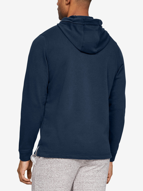 Mikina Under Armour Sportstyle Terry Logo Hoodie-Nvy