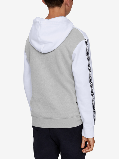 Mikina Under Armour Sportstyle Fleece Hoodie-Wht