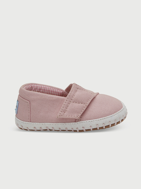 Topánky Toms Pink Canvas Tn Cribalp Lay