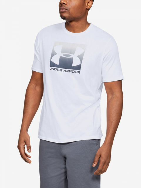 Tričko Under Armour Boxed Sportstyle Ss-Wht