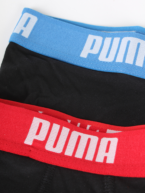 Boxerky Puma Basic Shortboxer 2 Pack red-b